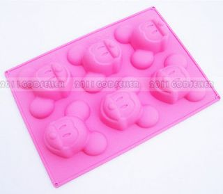 New Mickey Mouse Pudding Jelly Chocolate Cake Sugarcraft Cookie Cutter
