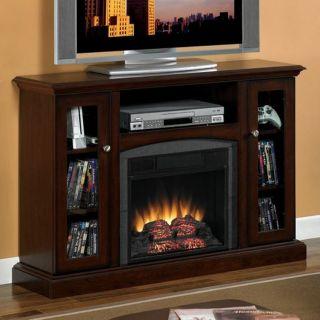 Vent Free Electric Infrared Quartz Fireplace Heater Media