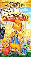 The Secret of NIMH 2 Timmy to the Rescue VHS Video Kid