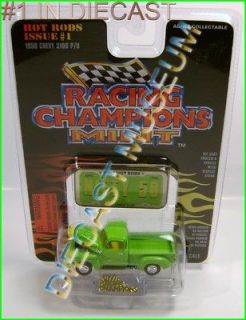 CHEVY CHEVROLET 3100 TRUCK PICKUP RC RACING CHAMPIONS RC MINT DIECAST