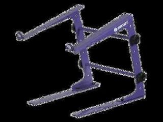 ODYSSEY LSTANDSPUR PURPLE TABLE TOP LAPTOP DJ STAND NEW