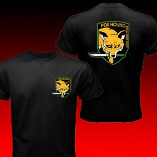 Foxhound Metal Gear Solid Special Force Group T shirt