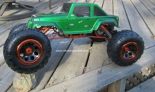 NEW 1/8 SCALE RTR 4X4 2.4G RC ROCK CRAWLER 4WS MONSTER TRUCK