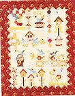 Home Tweet Home   BOM applique & pieced quilt pattern   full set