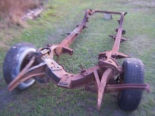 1955 chevy belair frame original chassis 1955 56 57 rat rod