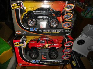 Remote Control Car Trucks Ram Hemi Ford 150 Harley Davidson Radio