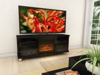 Electric Infrared Quartz Fireplace Heater Media Console Entertainment