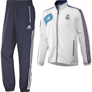 ADIDAS REAL MADRID PRESENTATION TRACKSUIT 2012 13 MENS 100% AUTHENTIC