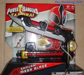 Power Rangers Samurai Deluxe Mega Blade sword w/ sounds & action