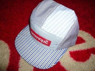 2012 S/S BOX LOGO CDG COMME DES GARCON RED CAMP CAP HAT SAFARI DONEGAL