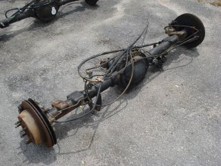 73 POSI GOV LOC DISC BRAKE REAR END AXLE CHEVY SILVERADO SIERRA