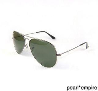 New Polarized Ray Ban Aviator Sunglasses 3025 004/58 RB Gun Metal