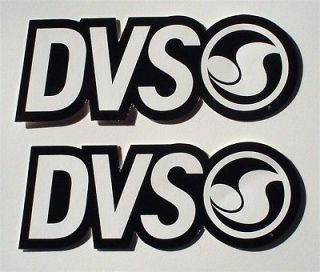DVS Racing Sponsor Stickers/Decals Seen on #14 Kevin Windham 2012