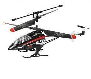 Protocol TurboHawk channel Remote Controlled Helicopter Red/Black
