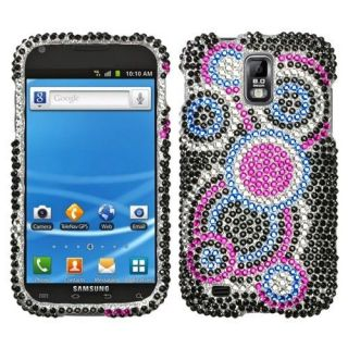 Bubble Crystal BLING Hard Case Phone Cover T Mobile Samsung Galaxy S