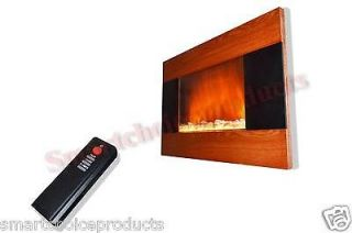 Electric Fireplace Wall Mounted Control Remote Heater firebox S510(C1