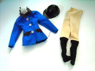 Barbie Doll Clothing Skipper 10 Fashion Doll English Riding OUtfit