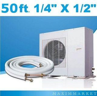 50 ft. Mini Split A/C Connection Line Set 1/4 X 1/2 For All