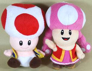 mario brothers plush toys in TV, Movie & Video Games