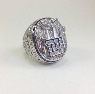 York Giants Super Bowl Championship Ring Justin Tuck 2007 1990 Jersey