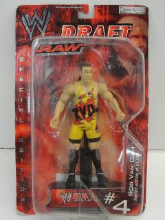 Rob Van Dam WWE Raw Draft Action Figure #4 Limited Edition of 21,250