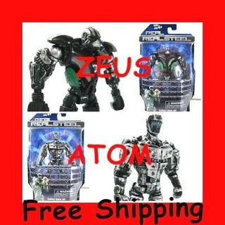New Real Steel figures ( Atom & Zeus ) Twin Cities Midas Noisy Boy