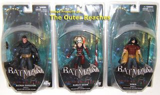 Batman ARKHAM CITY 3 Action Figure OPENERS SET IN STOCK Robin Harley