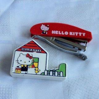 Newly listed Vintage 1976 Hello Kitty Tape Dispenser & Stapler set