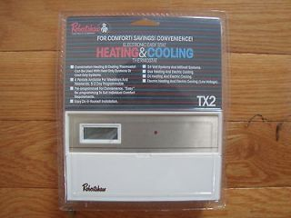 TX2 Programmable Electronic Heating & Cooling Easy Stat Thermostat