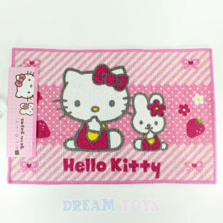 Sanrio Hello Kitty and Melody Rug   Bathroom Kitchen Floor Mat 23.5 x