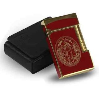 Romeo y Julieta Signature Edition Cigar Lighter Red w/ Leather Case