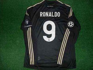 REAL MADRID RONALDO MATCH UN WORN SHIRT CHAMPIONS LEAGUE 09.