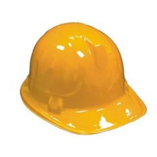 12 YELLOW KID SAFETY CONSTRUCTION HARD HAT PARTY HELMET