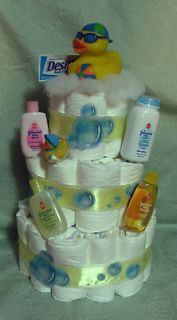 Diaper Cake Rubber Duck Bath Time Baby Shower U PICK THE DUCK