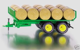 SIKU 2891 ROUND BALE TRAILER WITH BALES 132 SCALE NEW