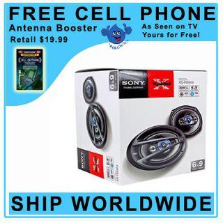 Sony XS R6944 300 W Peak 6 x 9 Xplod 4 Way Car Speakers r Speaker