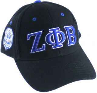 Zeta Phi Beta 3 Letter Low Profile Sorority Ladies Cap