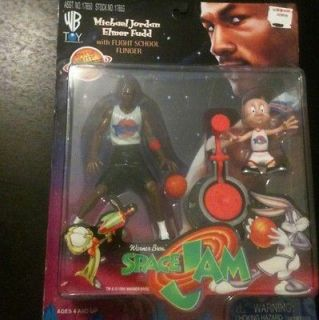 1996 Space Jam Michael Jordan Elmer Fudd & Flight Flinger Figures set