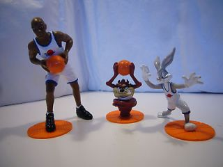 Space Jam Jordan Taz Tazmanian Devil Bugs Bunny 1996 Applause Warner