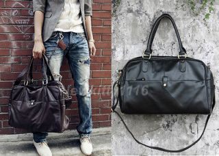 Mens Women Duffle Sports Shoulder GYM Schoolbag Handbag Travel Bag