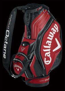 Callaway Golf Diablo Octane Six Way Divided Top Tour Staff Golf Bag