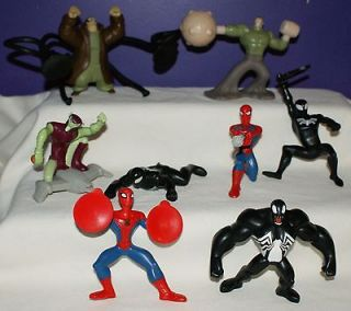 Spiderman Spider man McDonalds Happy Meal Toy set 8 complete