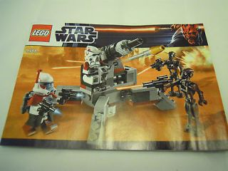 LEGO Star Wars Elite Clone Trooper & Commando Droid Battle Pack