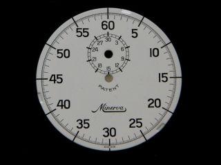 minerva stopwatch in Jewelry & Watches