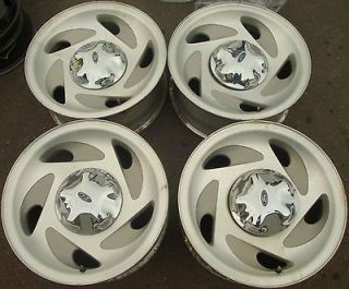 1997 98 99 00 Ford F150 Expedition OEM Alloy Wheels Rims f75z1007ec