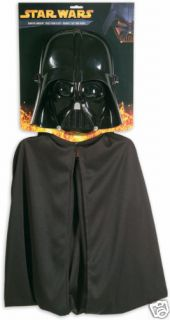 Star Wars Darth Vader Sith Lord Dress Up Halloween Child Costume Mask