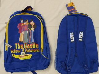 The Beatles Yellow submarine Lennon McCartney official back pack