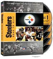 to Super Bowl XLIII Pittsburgh Steelers DVD, 2009, 4 Disc Set