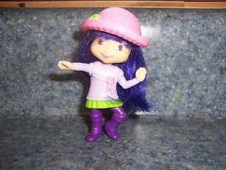 McDonalds Strawberry Shortcake TEA BLOSSOM Doll Figure Toy 2007 TCFC