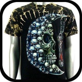 Shirt Biker Heavy Metal Tattoo S26 Sz XXL 2XL Rock Street bmx Indie